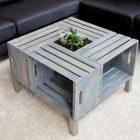 Fabriquer table basse relevable palette