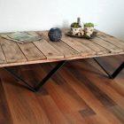Fabriquer table basse en palette