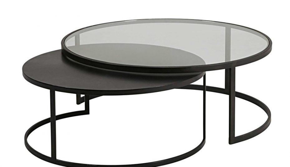 Table basse noir et bois but