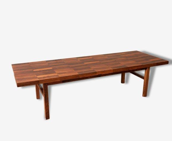 Table basse scandinave longue