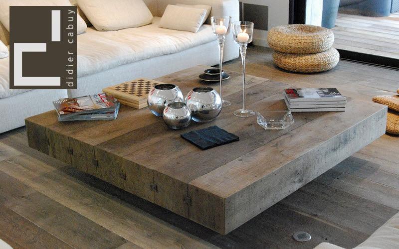 Table basse bois grande dimension