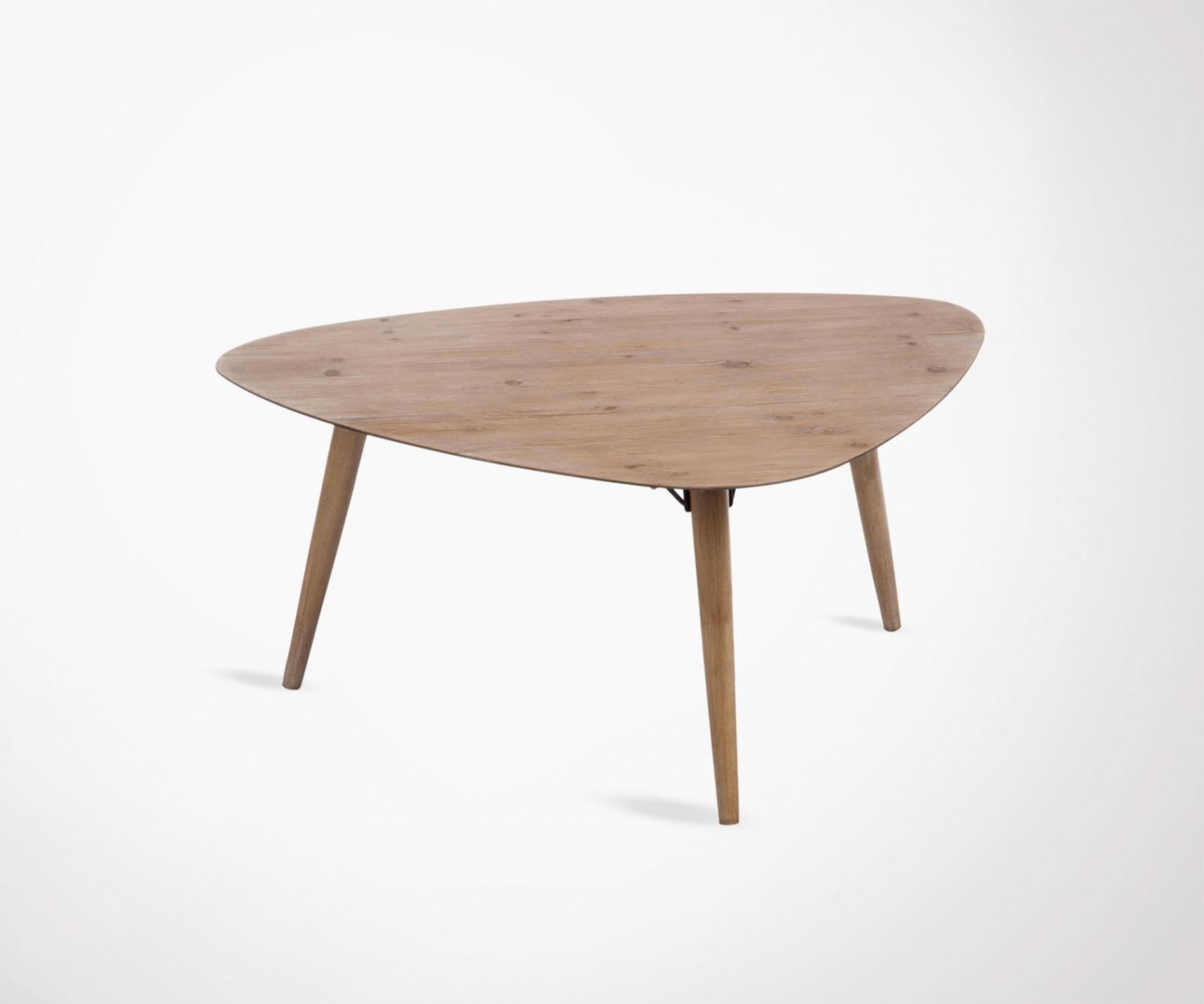 Kare design table basse bois