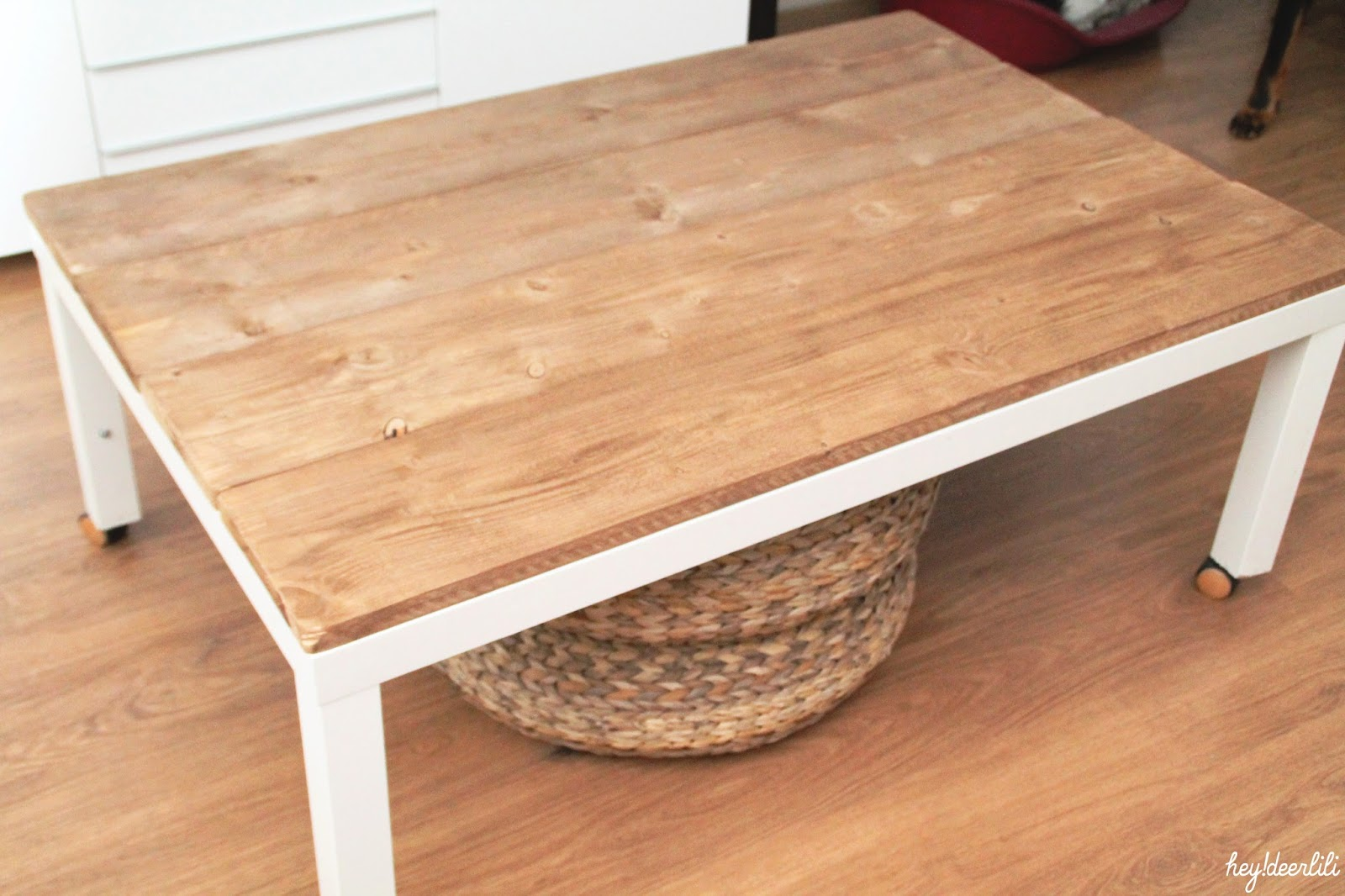 Repeindre une table basse ikea
