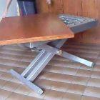 Comment construire une table basse relevable