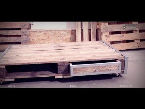 Fabrication d'une table basse avec palette