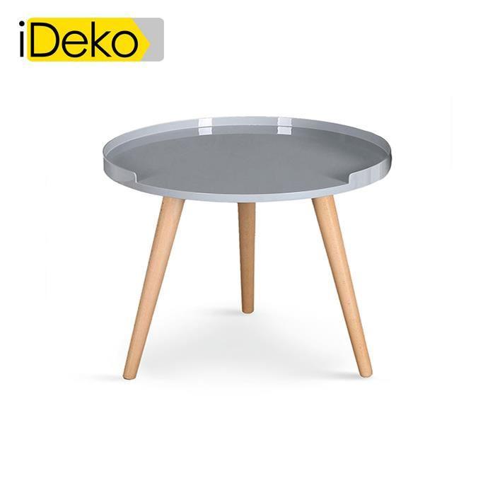 Table basse scandinave trois pieds