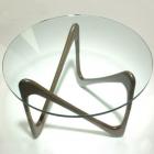 Table basse verre designer japonais