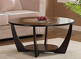 Table basse ronde pour salon