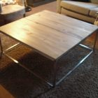 Table basse en bois fais maison