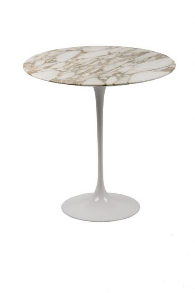 Table basse marbre pied tulipe
