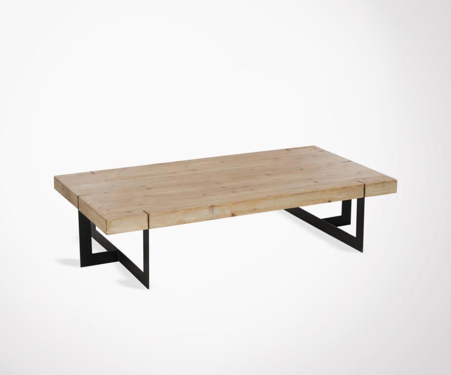 Table basse bois massig