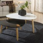 Table basse gigogne scandinave groupon