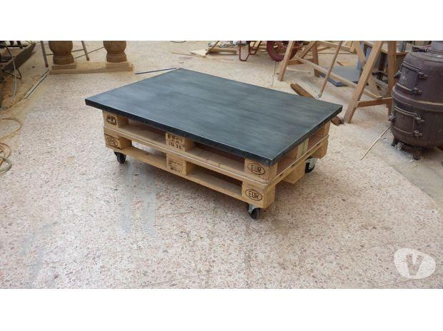 Plateau table basse palette
