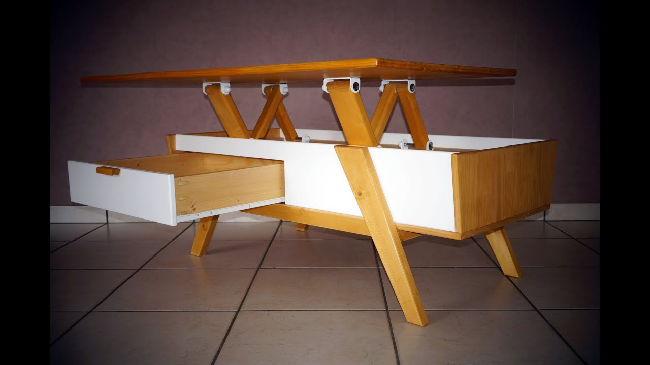Construire table basse scandinave