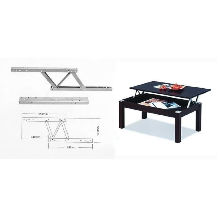 Charniere pour table basse relevable