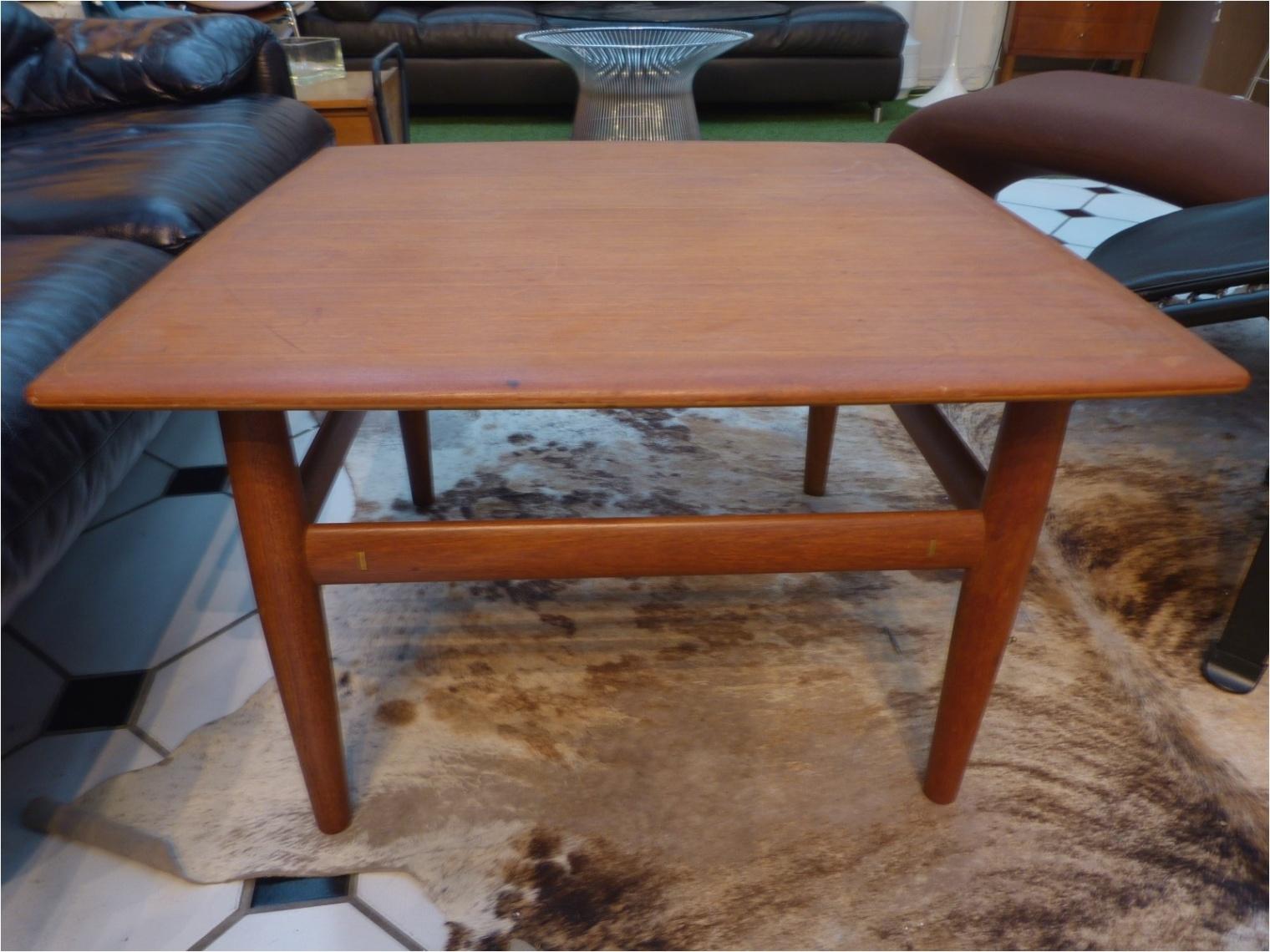 Table basse industrielle scandinave