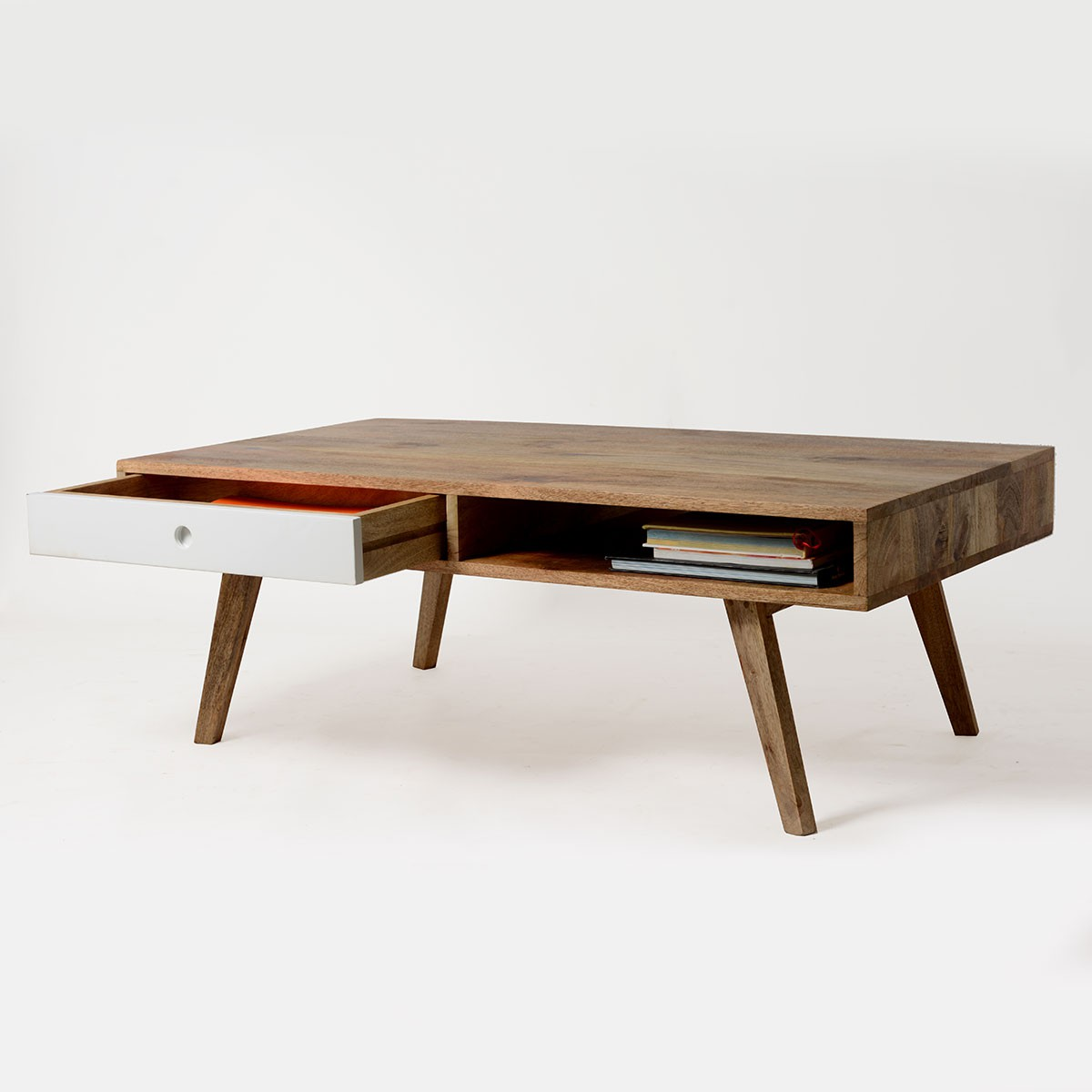 Table basse bois massif scandinave