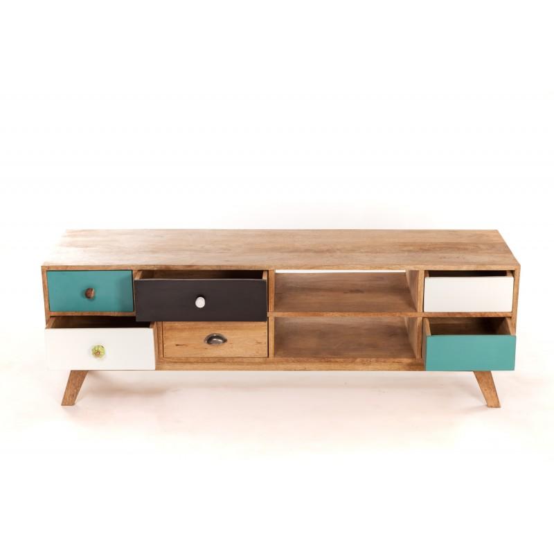 Table basse et meuble tv scandinave