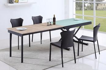 Table basse relevable clever xl wengé