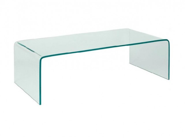 Table basse transparente alinea