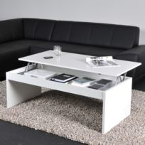 Table basse relevable 120