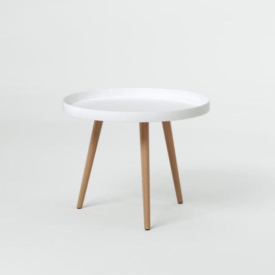 Table basse hilde ronde en verre