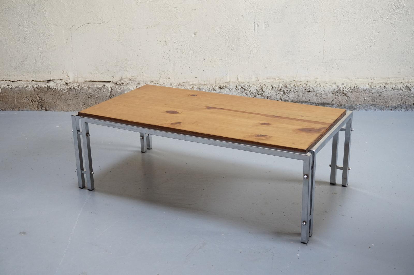 Table basse vintage knoll