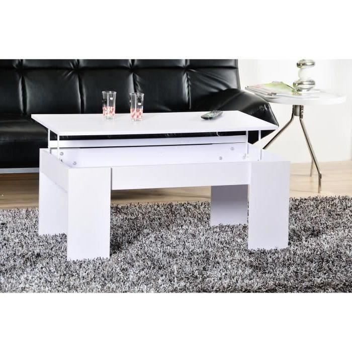 Magasin table basse relevable