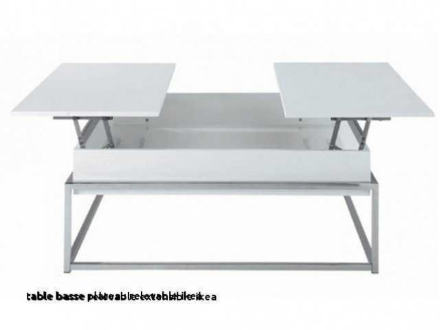 Table basse avec tablette relevable ikea