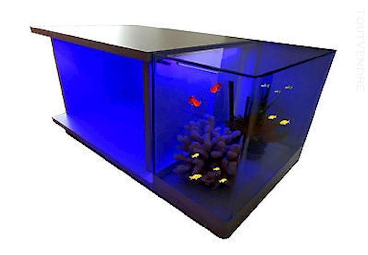 Table basse aquarium neuve