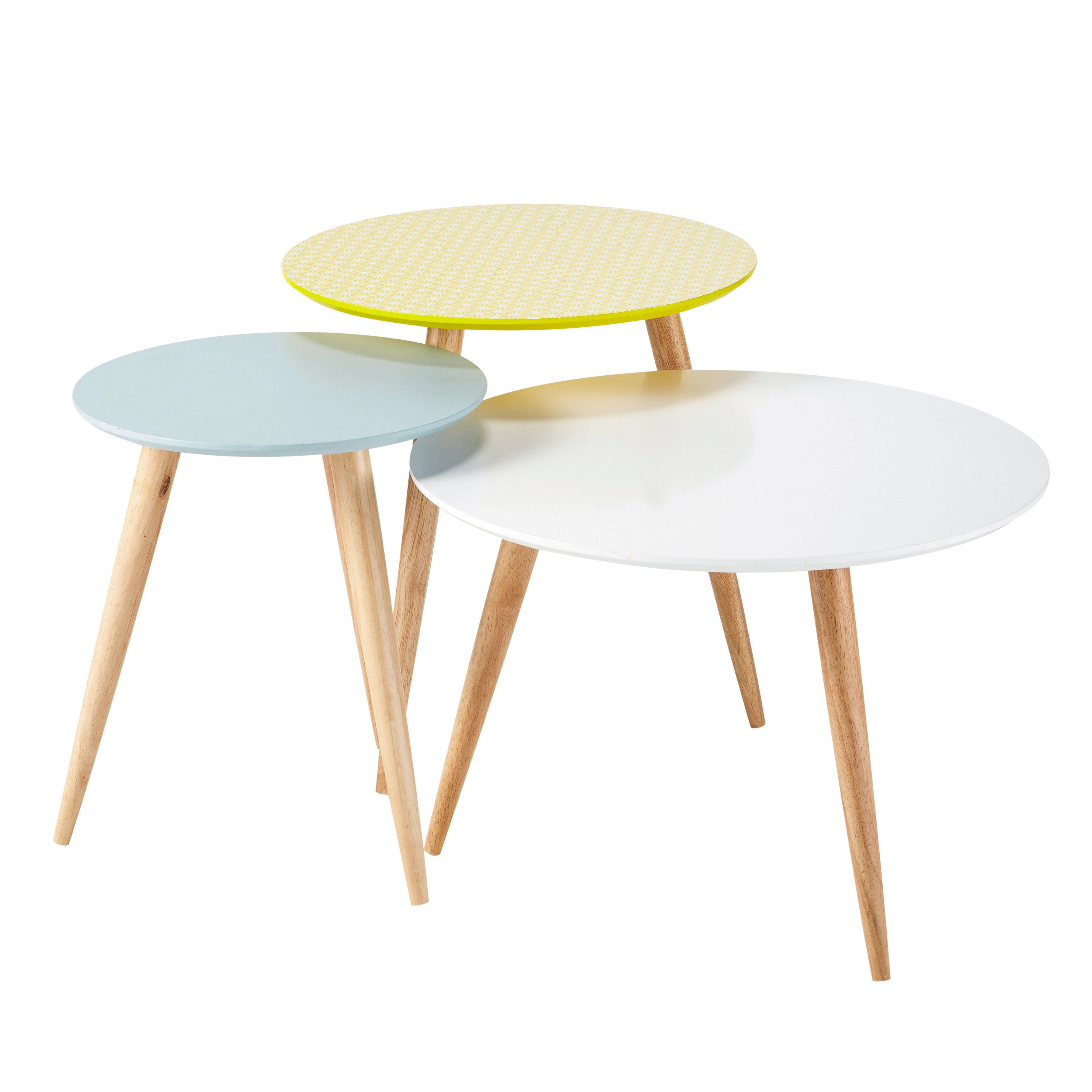 Petite table basse scandinave 40cm