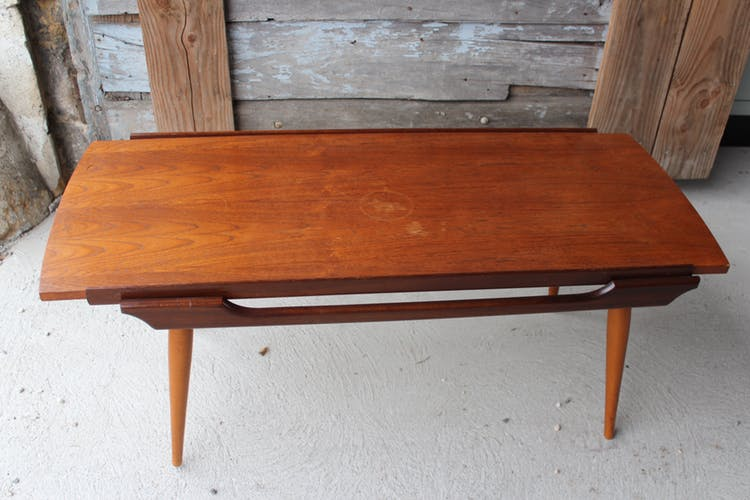 Table basse scandinave reversible
