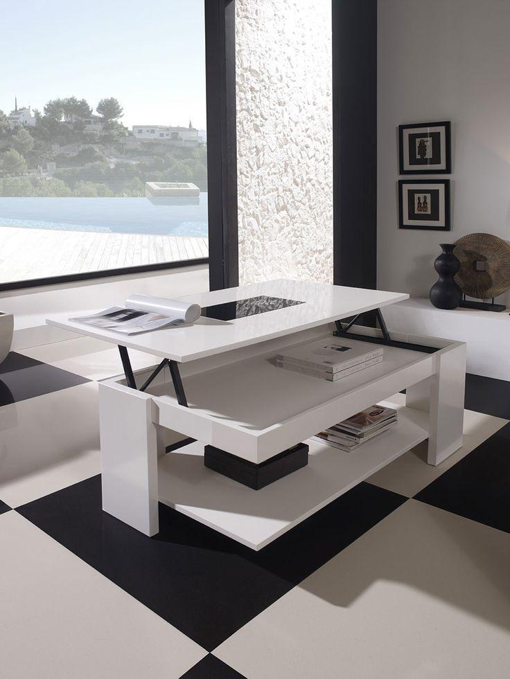 Table basse relevable grange