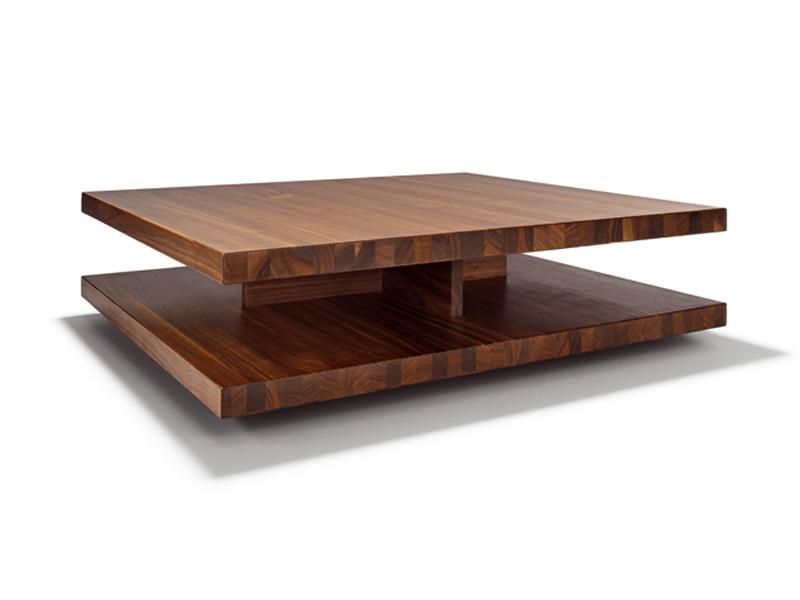 Table basse bois designer