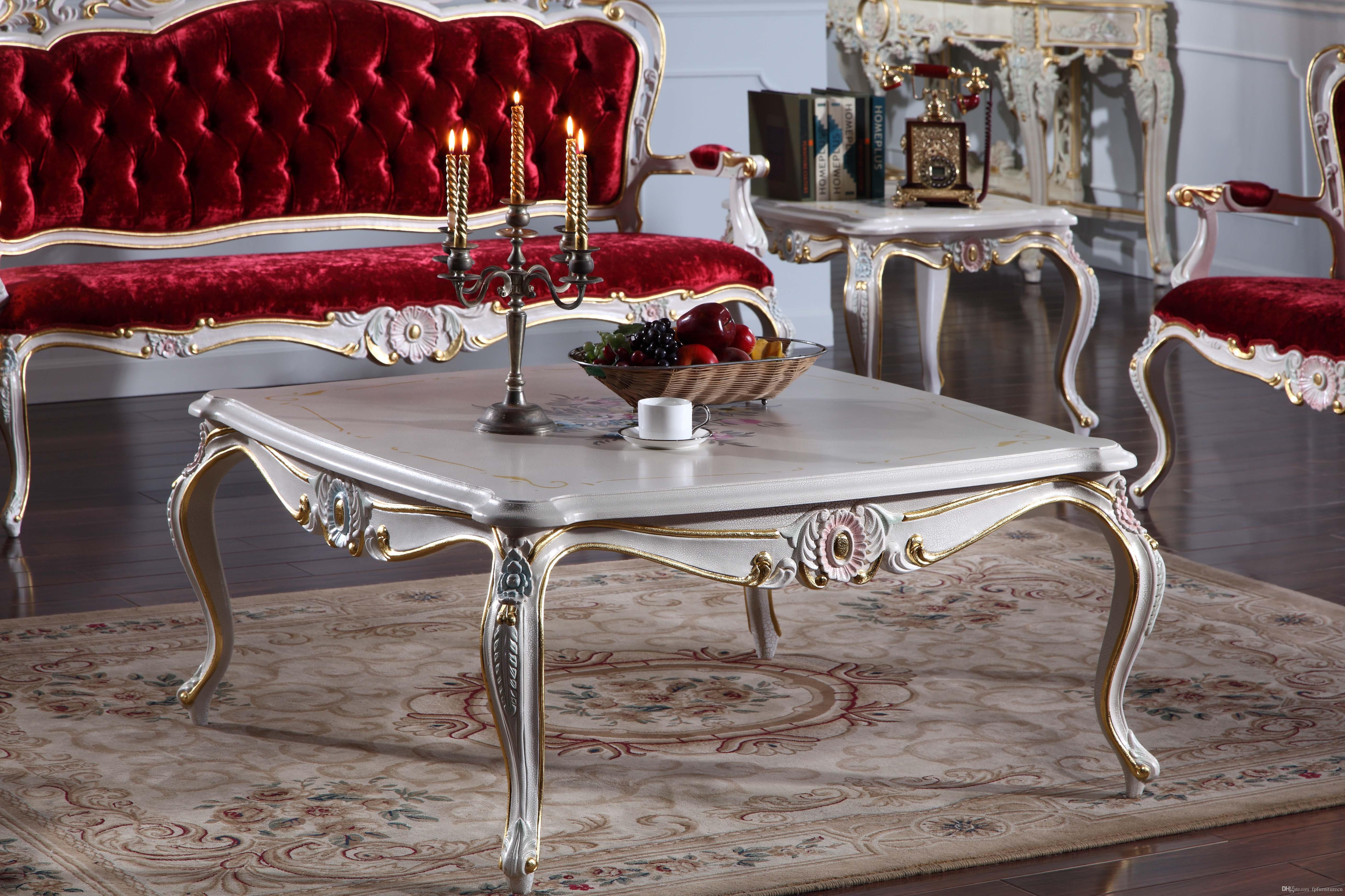 Table basse classique bois
