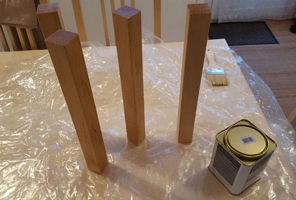 Fabriquer une table basse en bois massif