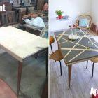 Peindre table basse en bois