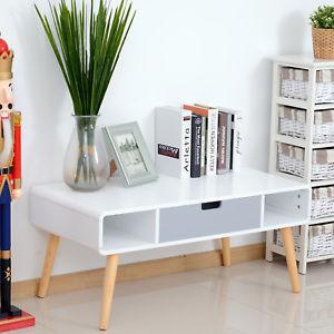 Table basse de salon style scandinave