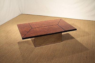 Table basse vintage noir