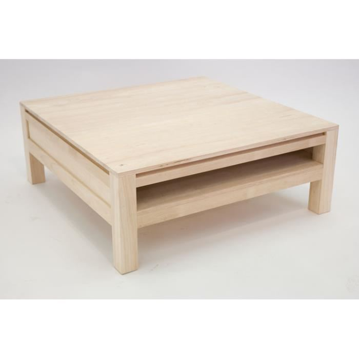 Construire table basse scandinave