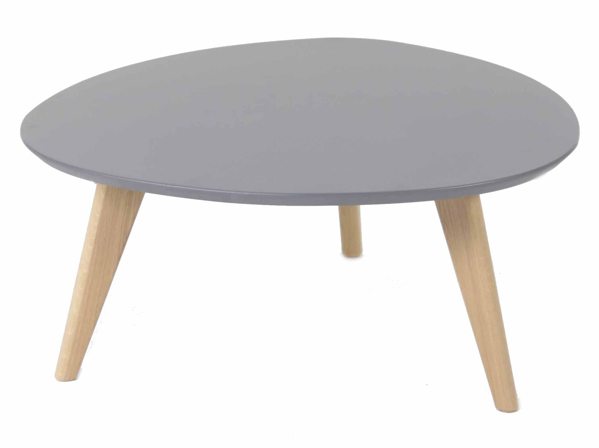 Table basse ronde haute