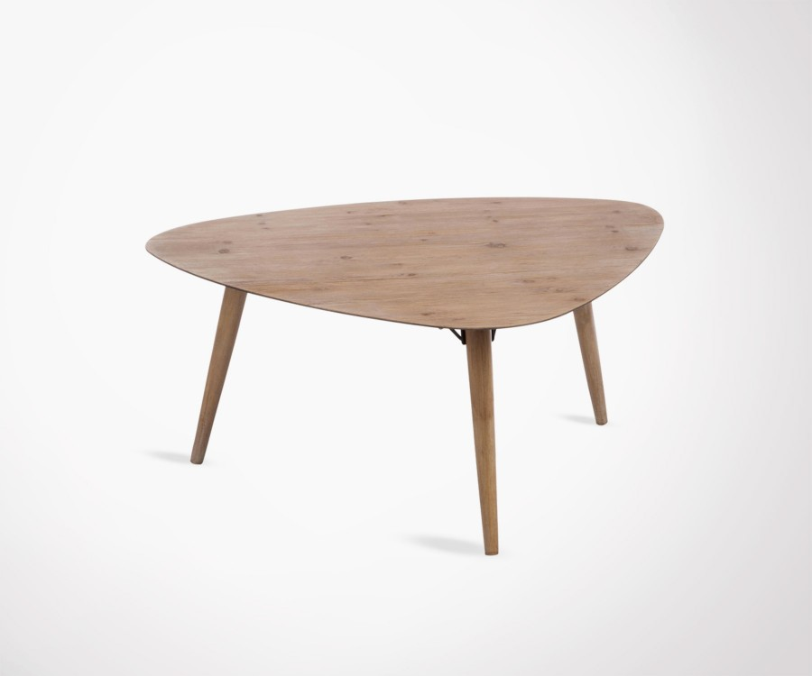 Table basse scandinave 3 pieds