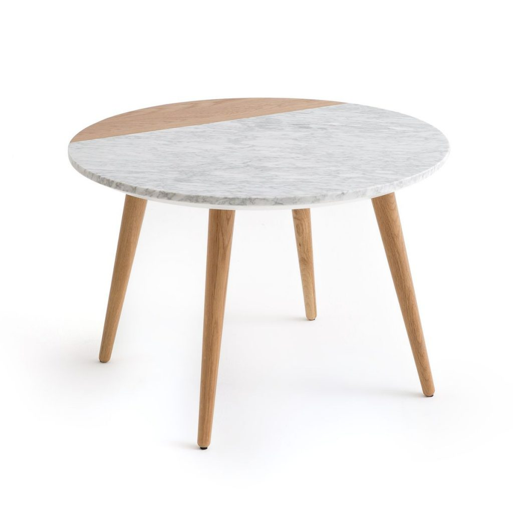 Table basse scandinave bleu pas cher