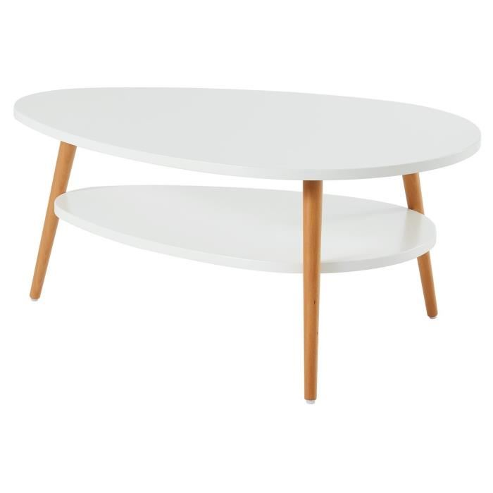 Table basse scandinave colette
