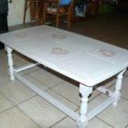 Relooker table basse en bois exotique