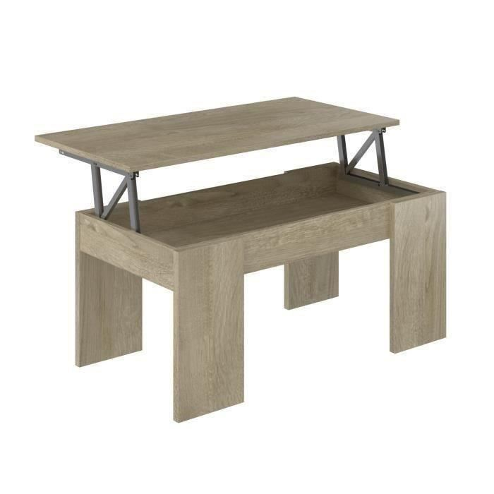 Table basse relevable swing