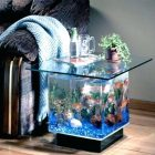 Aquarium table basse traviata