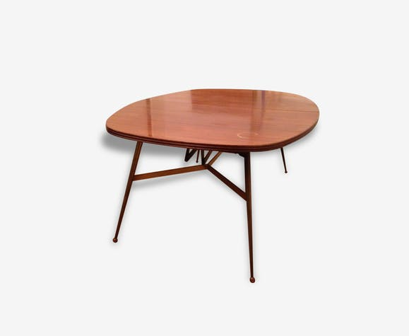 Table basse en bois transformable