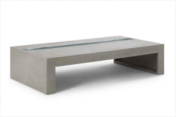 Table basse avec pouf occasion