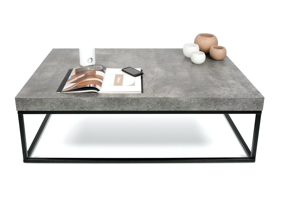 Table basse beton fly occasion